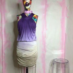 SALE Young Fabulous & Broke Orchid Ombre Mini Dres